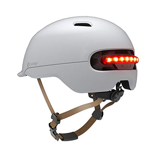 Smart4u SH50L Smart Bike Helmet with 3 Types of Alert Lights,Smart&Safe Bling Helmet,Comfortable,...