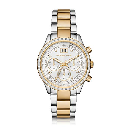 Michael Kors MK6188 - Brinkley Two-Tone One Size - http://coolthings.us