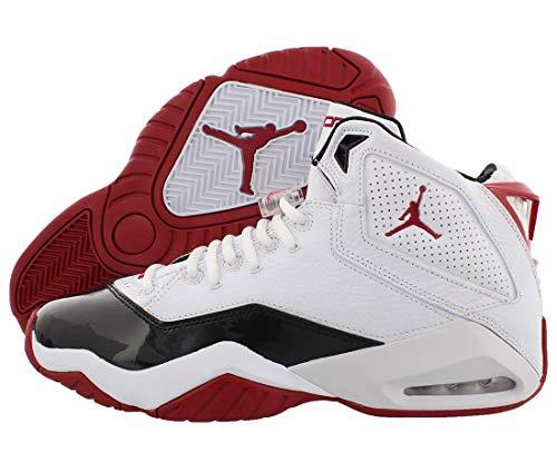 red and black jordans - 9