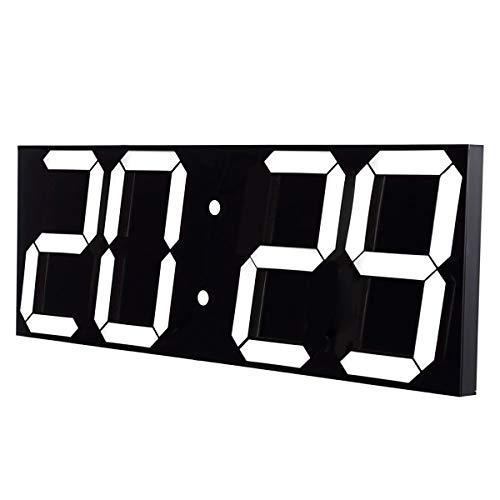 Goetland 17-3/5 inches Jumbo Wall Clock LED Digital Multi Functional Remote Control Countdown Timer...