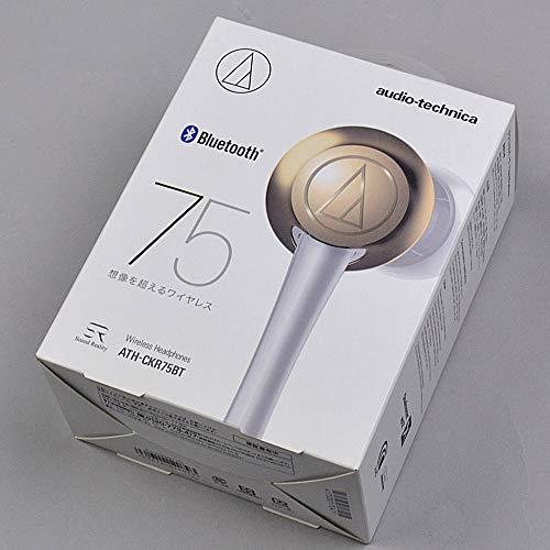 audio-technica ATH-CKR75BT CG シャンパンゴールド Bluetoothイヤホン ワイヤレスイヤホン オーディオテクニカ