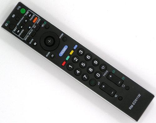 Ersatz Fernbedienung für Sony RM-ED011 RM-ED011W Fernseher TV Remote Control/Schwarz/Neu