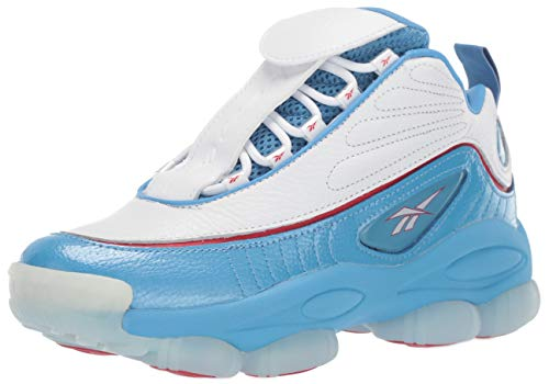 Reebok Unisex Adult's Iverson Legacy, athletic blue/white/power red 8 M US