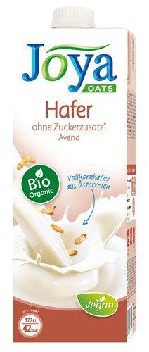 10x Joya - Bio Hafer-Drink, ohne Zuckerzusatz - 1000ml