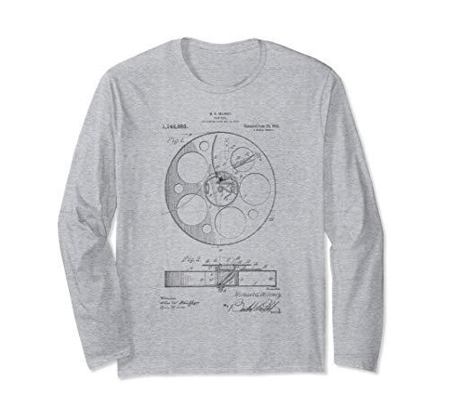 Filmrolle, Film, Filmemacher, Patent Langarmshirt