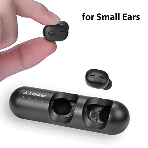 Avantree Mini True Wireless Earbuds for Small Ears Canals,...