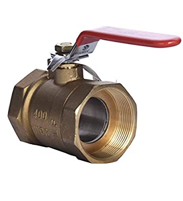 """LDR Industries 022 2208 Ball Valve, 2"""", Lead Free Brass from LDR"""