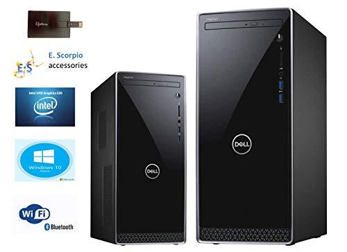 2020 Newest Dell Inspiron 3671 Premium Desktop Tower Intel Quad-Core i3-9100 (Beat i7-7700T) 32GB DDR4 RAM 2TBSSD, 2TB HDD MaxxAudio WiFi HDMI Bluetooth Win 10 with E.S 32GB USB Card