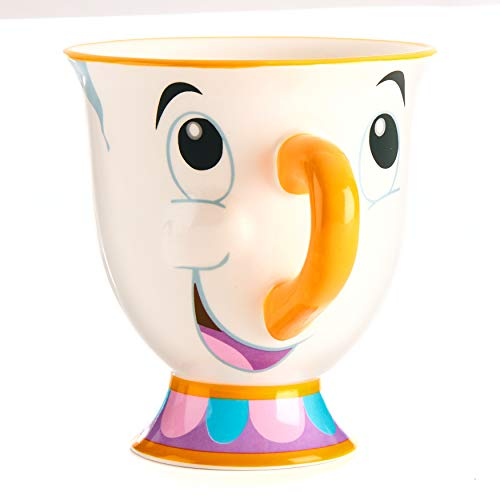 Disney PP3556DP Teiera e Tazza, Porcellana, Multi-Colour, Standard