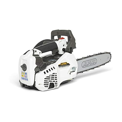 "Alpina 240271000/A18 Motosierra de gasolina AC 27 T, 26.9 cc, Blanco, Espada de 25 cm (10"")"