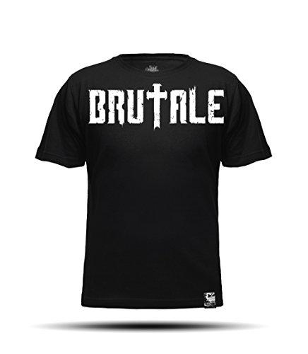 BRUTALE - T-Shirt de Sport - Homme Black/Nero XL
