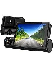 AKEEYO ドライブレコーダー 車内カメラ GPS搭載 車内外同時録画 ドラレコ 車内監視 SONY製センサー STARVIS搭載 暗視対応 フルHD 1080P Gセンサー WDR 常時録画 ループ録画 全国信号機対応 3インチOLED液晶 32GB MicroSDカード付き