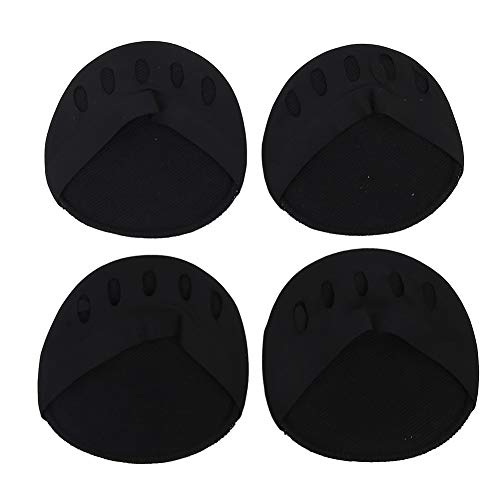 Ball of Foot Cushions Forefoot Pad Metatarsal Pads Support for Relief from Metatarsal, Running, Walking and Ball of Foot Pain(Black)