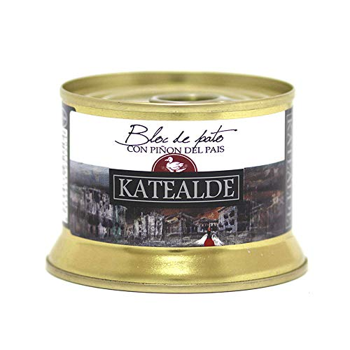 Katealde Bloc De Foie Gras De Pato Con Piñón Del País - 130 g