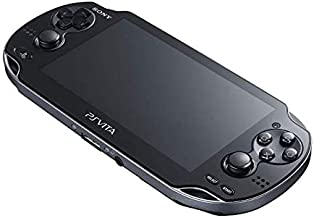 $219 » Sponsored Ad - Sony Playstation Vita WiFi 1000 Series OLED Console with 2 Silicon Thumbstick Covers (Renewed) (Piano Black)