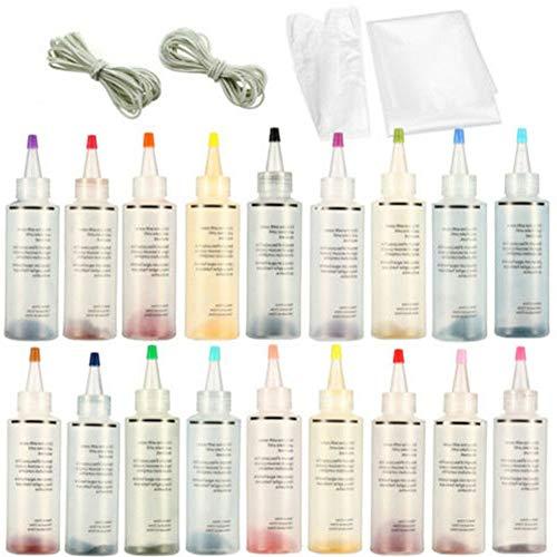 Tulipe Vêtements Teinture Tie Dye Kit,Tie Permanente Tie Shirt Tissu Dye Spray Teinture Pour Femmes Hommes Enfants Amis De La Famille Bricolage Parti Fournitures