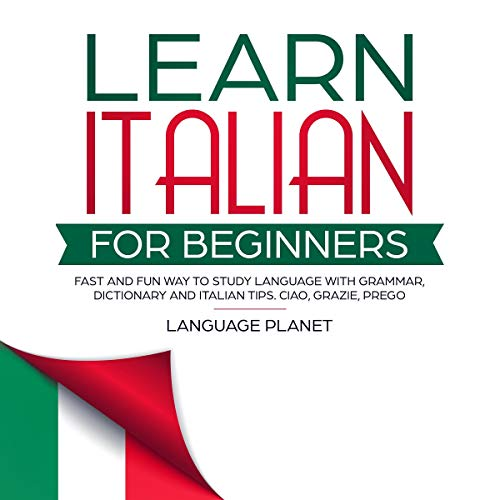 Couverture de Learn Italian for Beginners