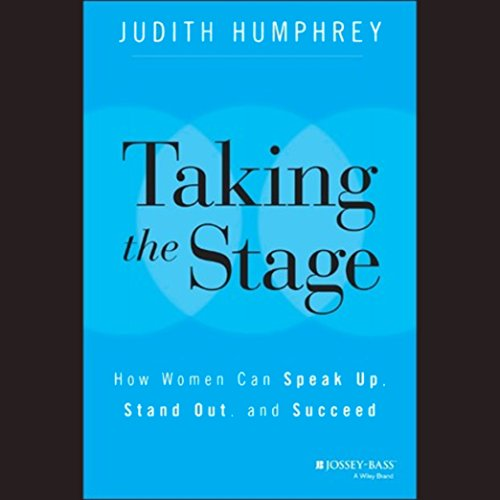 Taking the Stage audiobook cover art
