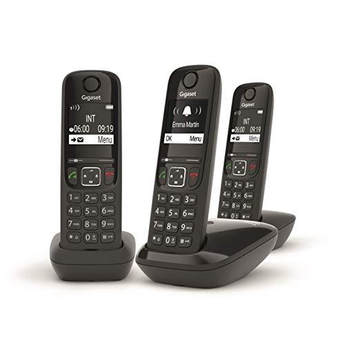 Gigaset AS690 - Teléfono portátil inalámbrico con Manos Libres