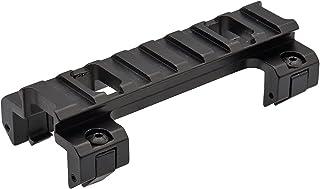 次世代MP5対応【 ミリタリーガレージ 】MP5/G3 ロープロファイル 20mmレイルマウント アルミ合金製 BK (ショート(全長90mm))