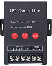 LED制御モジュール、明るさ調整RGBコントローラーLEDストリップライト用KTV用バー用調光用の建物照明用3チャンネル