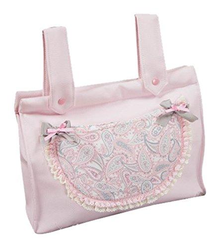 Babyline Caramelo Brottasche für Kinderwagen, Pink