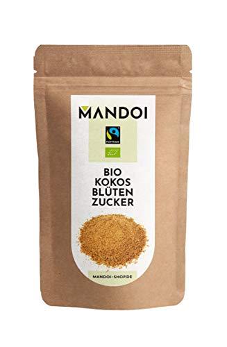 Mandoi FAIRTRADE Kokosblütenzucker BIO 500g, nachhaltiger und ökologischer Anbau, organic coconut...