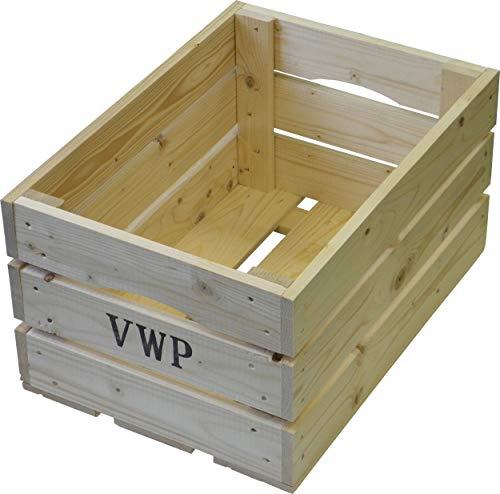 VWP fiets krat hout natuurlijke 40 liter