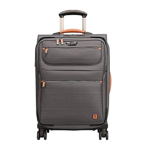 Ricardo Beverly Hills San Marcos 19-inch 4-Wheel Wheelaboard Luggage, Gray, One Size