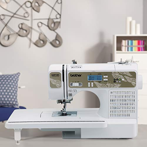 Brother RSQ9185 Quilting Machine (Refurbished) 185 Built-in Stitches, LCD Display, Wide Table, 11 Included Sewing Feet