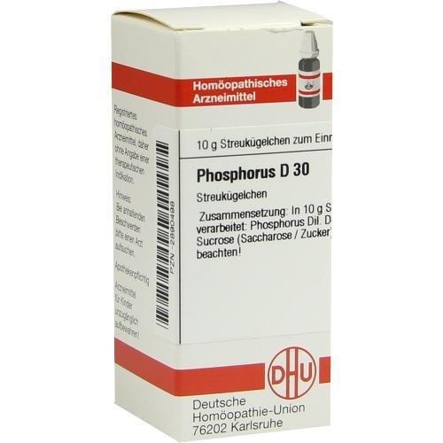 PHOSPHORUS D30 10g Globuli PZN:2890498