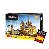 World Brands- National Geographic Puzzle 3D Notre Dame de Paris, Color variado (Tachan DS0986h)
