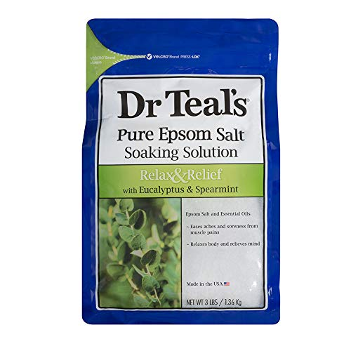 Dr. Teal's Epsom Salt Soaking Solution with Eucalyptus Spearmint, 48 Ounce by Advanced Beauty Systems [Beauty] (English Manual)