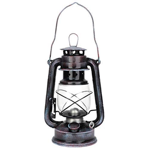 Aoca Linterna de huracán, Bote de antorcha Tiki de Alto Brillo, para cocinas para almacenes