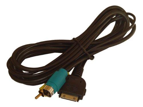 vhbw VERBINDUNGSKABEL Adapter Kabel passend für Alpine KCE-400BT, IVA-D106R und weitere mit Full Speed Anschlussbuchse ab 2009 ersetzt KCE-435iv