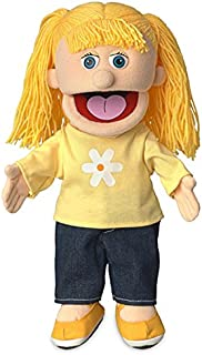 ''Katie'', 36cm Glove Puppet, Peach -Affordable Gift for your Little One Item DSPU-SP3521