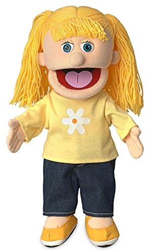 14' Katie, Peach Girl, Hand Puppet