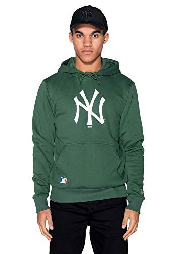 New Era MLB Seasonal Team Logo Hoody Herren NY Yankees Grün, Größe:S