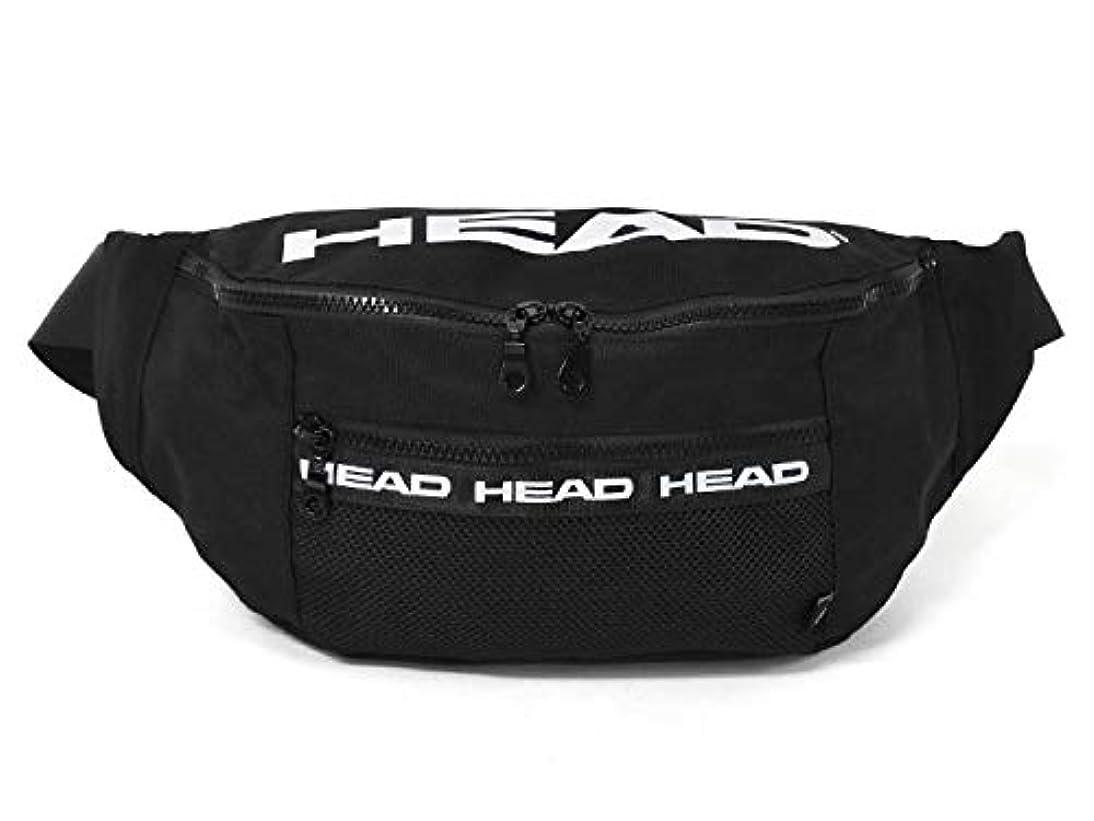 偏心北米指HEAD (ヘッド) ポリキャンバス メッシュポケット ボディバッグ
