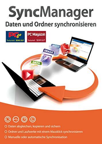 SyncManager - Daten und Ordner synchronisieren, kopieren, Umziehen für Windows 10, 8.1, 7