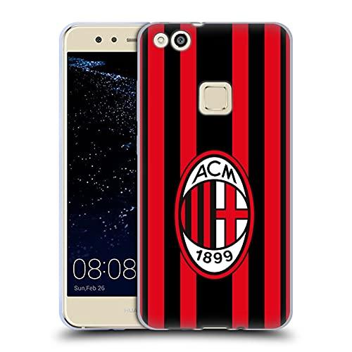 Head Case Designs Licenza Ufficiale AC Milan Home 2021/22 Kit Crest Cover in Morbido Gel Compatibile con Huawei P10 Lite