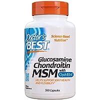 Doctor's Best Glucosamina Condroitina Msm Con Optimsm - 360 Cápsulas 360 Unidades 480 g