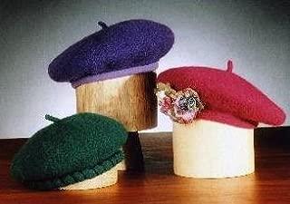 Felt Beret Knitting Pattern (AC-6)