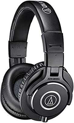 Audio-Technica ATH-M40x Professional Studio Monitor Headphone, Black from audio-technica