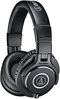 Audio-Technica ATH-M40x Professional Headphones, Black (B00HVLUR54) | Amazon price tracker / tracking, Amazon price history charts, Amazon price watches, Amazon price drop alerts
