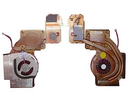 wangch Ventilador y disipador térmico de CPU para computadora portátil Compatible con Lenovo Thinkpad T61 UDQFRPR59FFD 42W2820 14.1