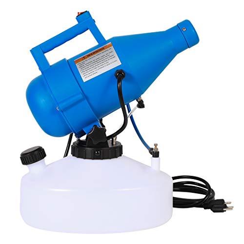 Konideke 4.5L (1.2 Gallon) Electric ULV Portable Fogger Sprayer Machine Atomizer Mist Cold Fogger Machine Spraying Distance 30ft for Home,Hotel,Church,School,Yard