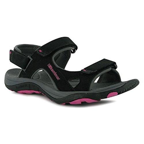 Karrimor Womens Antibes Ladies Sandals Summer Walking Shoes Footwear Black 7 (41)