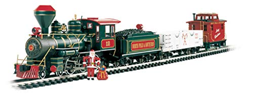 "small Bachmann Train-Preparing for Christmas Eve Train-Large ""G"""