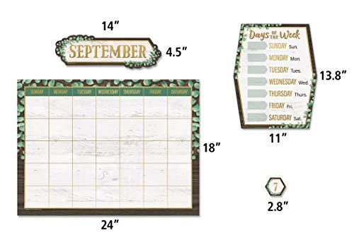 Teacher Created Resources Eucalyptus Calendar Bulletin Board, TCR8452 Photo #2